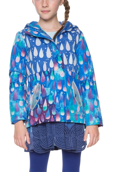 bunda Desigual Chaq Rain estate blue