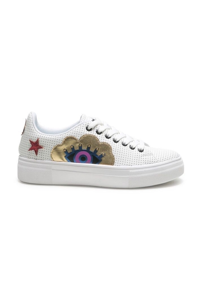 boty Desigual Star Surreal blanco