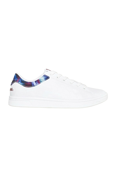 boty Desigual Retro Court Atlan blanco