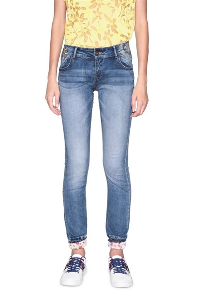 jeany Desigual Denim Lysian denim medium wash