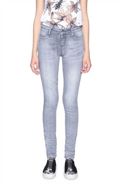 jeany Desigual Denim Maëline denim light grey