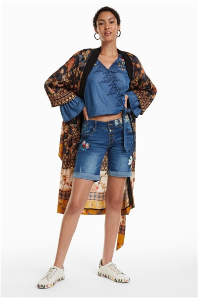 jeany Desigual Magali denim medium dark