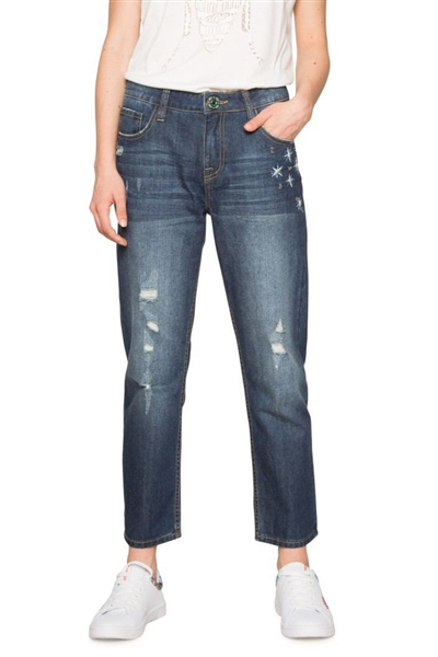 jeany Desigual Denim Mai denim dark blue