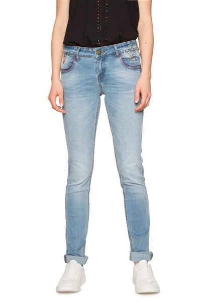jeany Desigual Maité denim medium wash