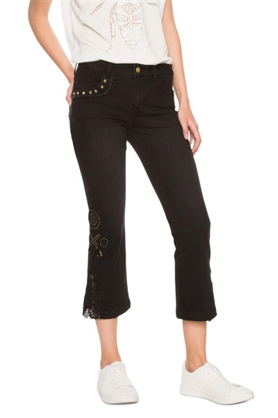jeany Desigual Denim Sylvett denim black wash