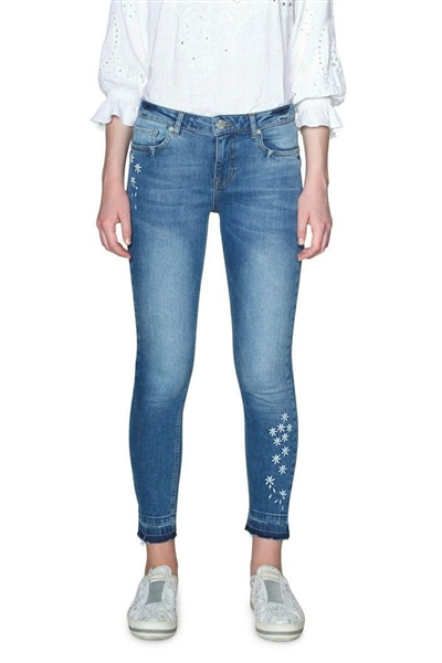 jeany Desigual Denim Satisfa denim light wash