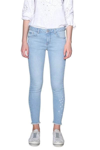 jeany Desigual Satisf denim bleach soft