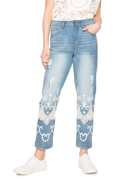 jeany Desigual Nelly denim medium light