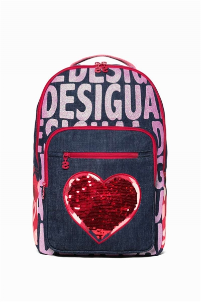 batoh Desigual Pineapple denim raw