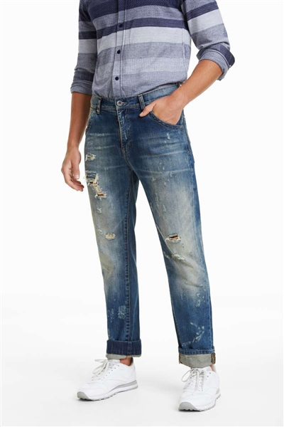 jeansy Desigual Calypso denim medium wash