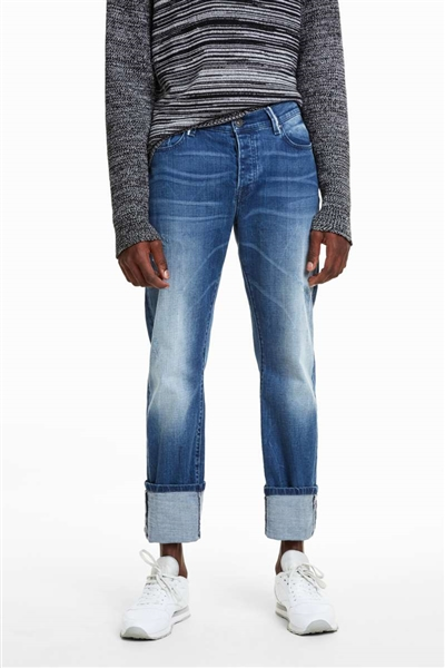 jeansy Desigual Camill denim medium wash