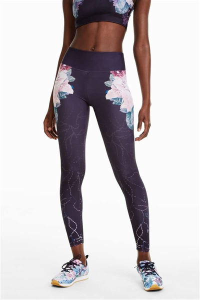 legíny Desigual Art&Thread shadow purple