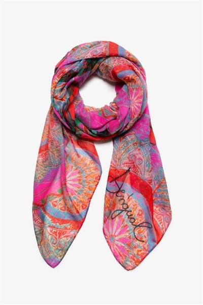 šála Desigual Soft Mandala nube rosa 978dd47df94