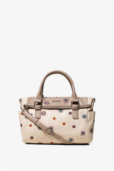 kabelka Desigual Julietta Loverty crudo beige