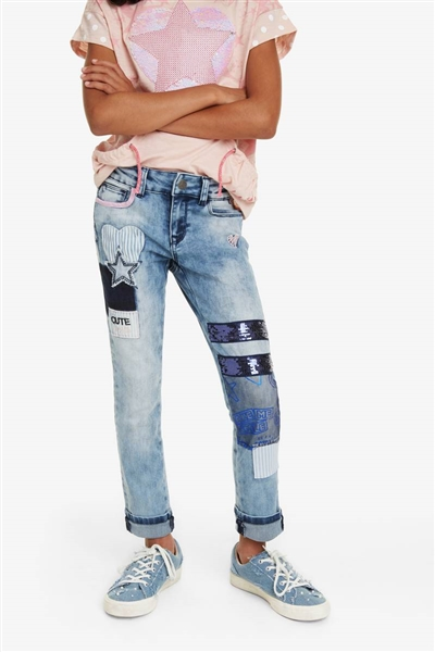 jeansy Desigual DENIM ABAD  jeans