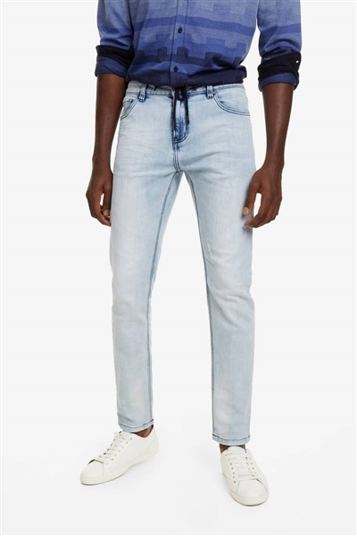 jeansy Desigual Ares denim light wash
