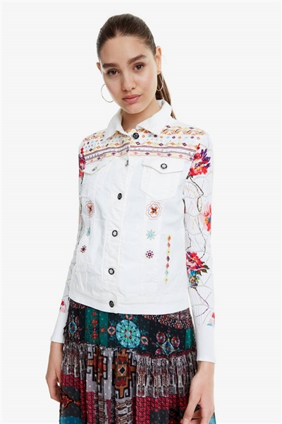 bunda Desigual Carrie denim nature