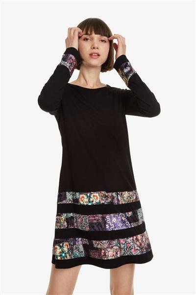 šaty Desigual Paloma negro 4ef017278f2