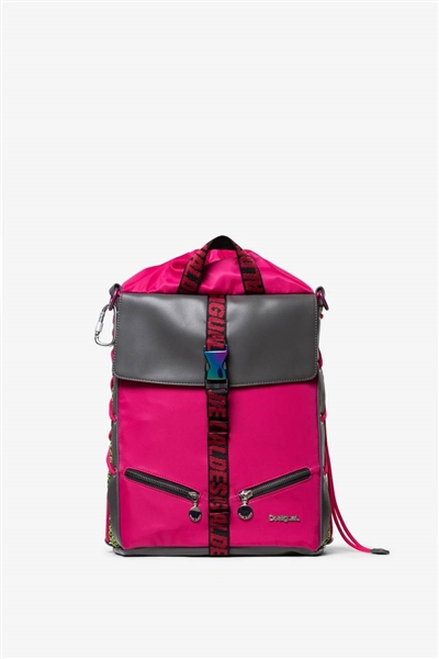 batoh Desigual Trackpack Himalay red ocre