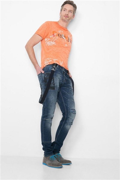 jeany Desigual Baggjean denim dark blue