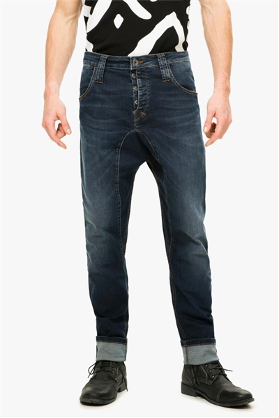 denim Desigual Troy denim dark blue