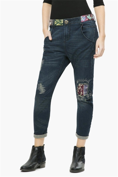 denim Desigual Broke De denim dark blue