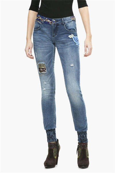 denim Desigual Broke De 1 denim dark blue