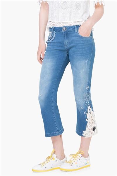 jeansy Desigual Denim Light 1 denim light wash a921467644